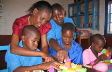 Picture of school children